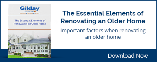Essential Elements of Renovating an Older Home