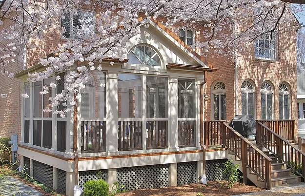 Colonial Style Porch Addition