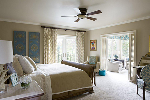 bedroom design by Lorna Gross-Bryant
