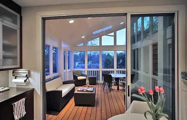 Modern Porch Addition