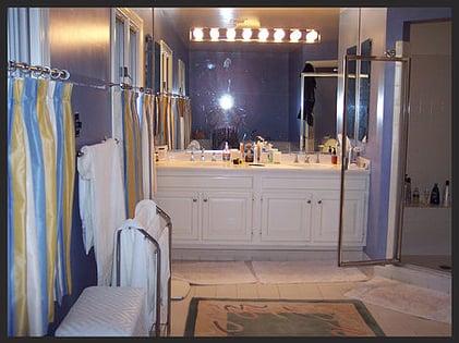 Bethesda Master Bathroom before renovation