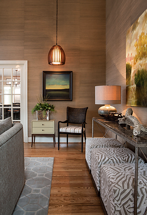 alternate view of Andrea Houck designed living room