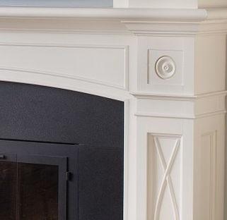 Fireplace Detail