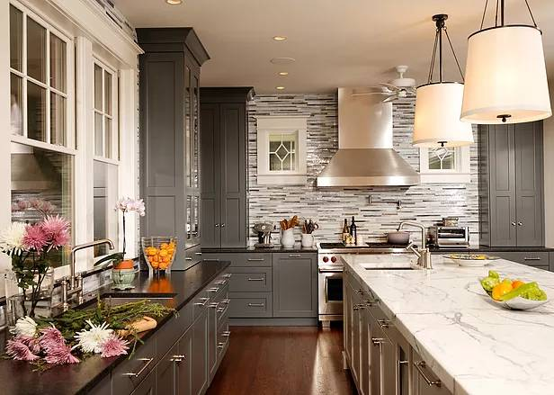 Kitchen Remodeling in Shades of Gray