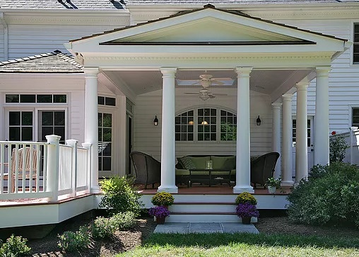 Classic Open Porch Addition