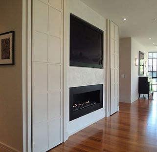 Fireplace & Media Wall