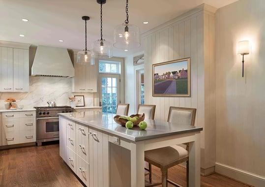 Linen White Kitchen Remodel