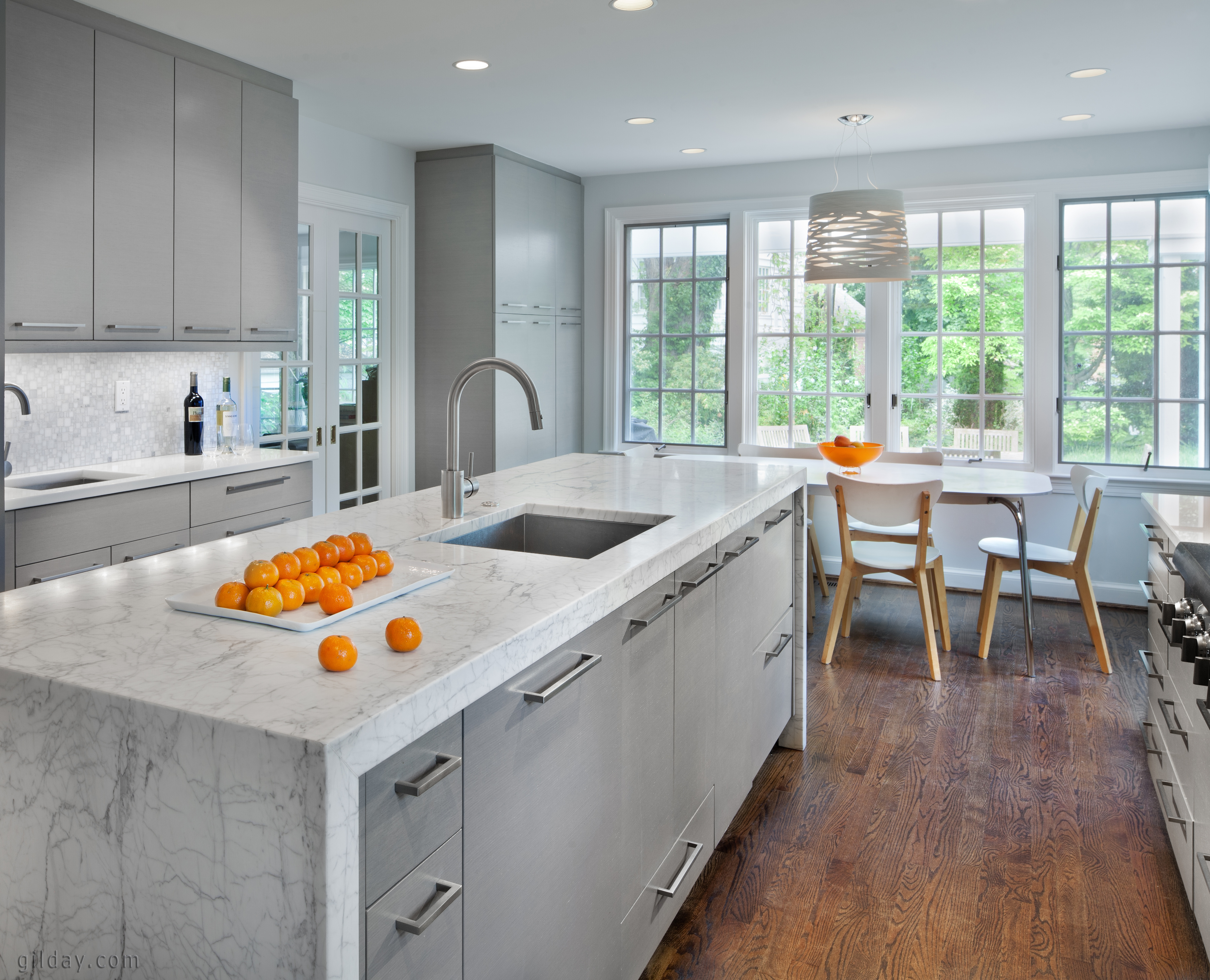Chevy Chase contemporary kitchen remodel