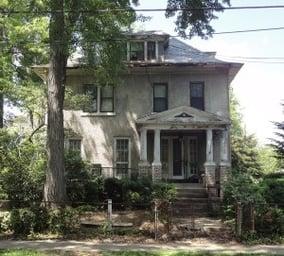 Cleveland Park DC house teardown