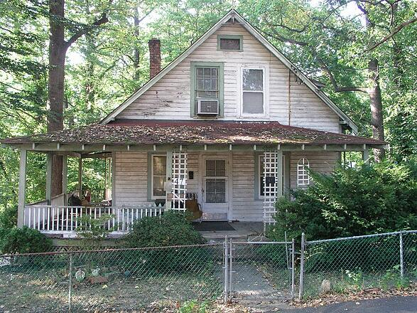 loveable old house in Takoma Park before home remodeling