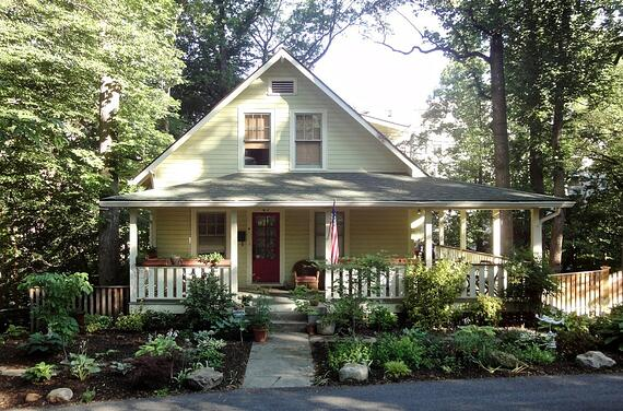 takoma park bungalow restored after a whole house remodeling