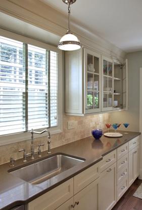 arlington kitchen remodel with silestone countertop