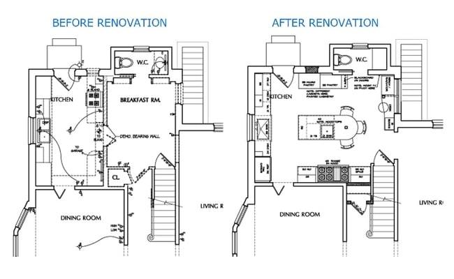 arlington kitchen remodel and reconfigure