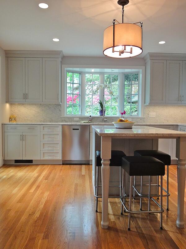 transitional kitchen design style in gray by ellen gilday witts
