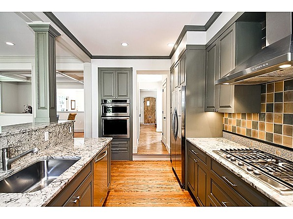newly remodeled kitchen in chevy chase md