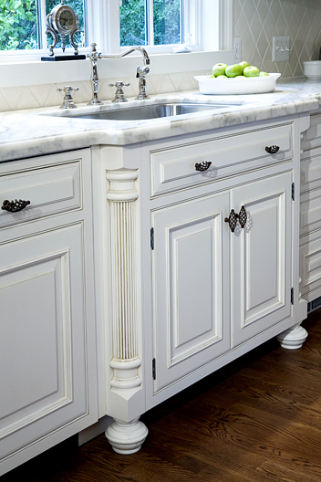kitchen remodeling with marble countertop