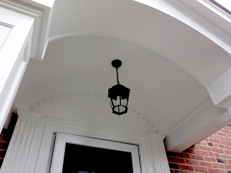 detail of trim work by gilday renovations