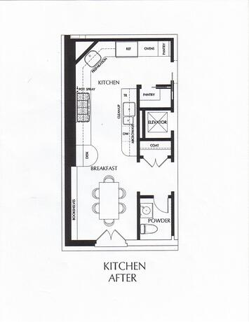 Kitchen Layouts: The Modern Galley Kitchen