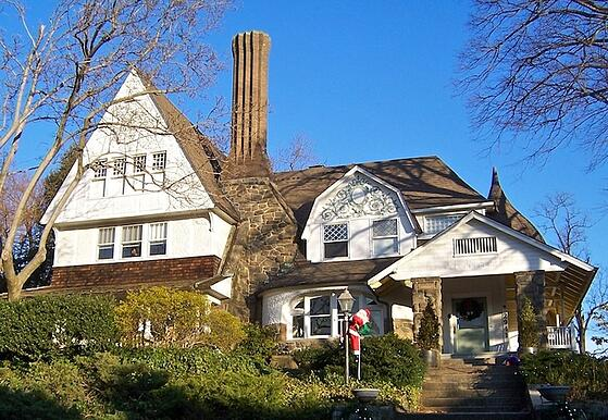 eclectic architectural design style in Cleveland Park DC