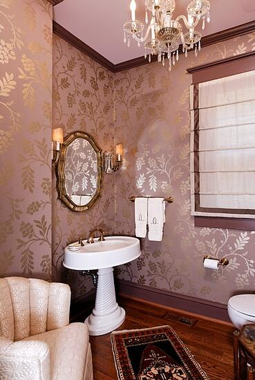 Cleveland Park bathroom remodel in Victorian style
