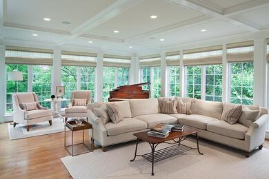 chevy chase sun room addition interior