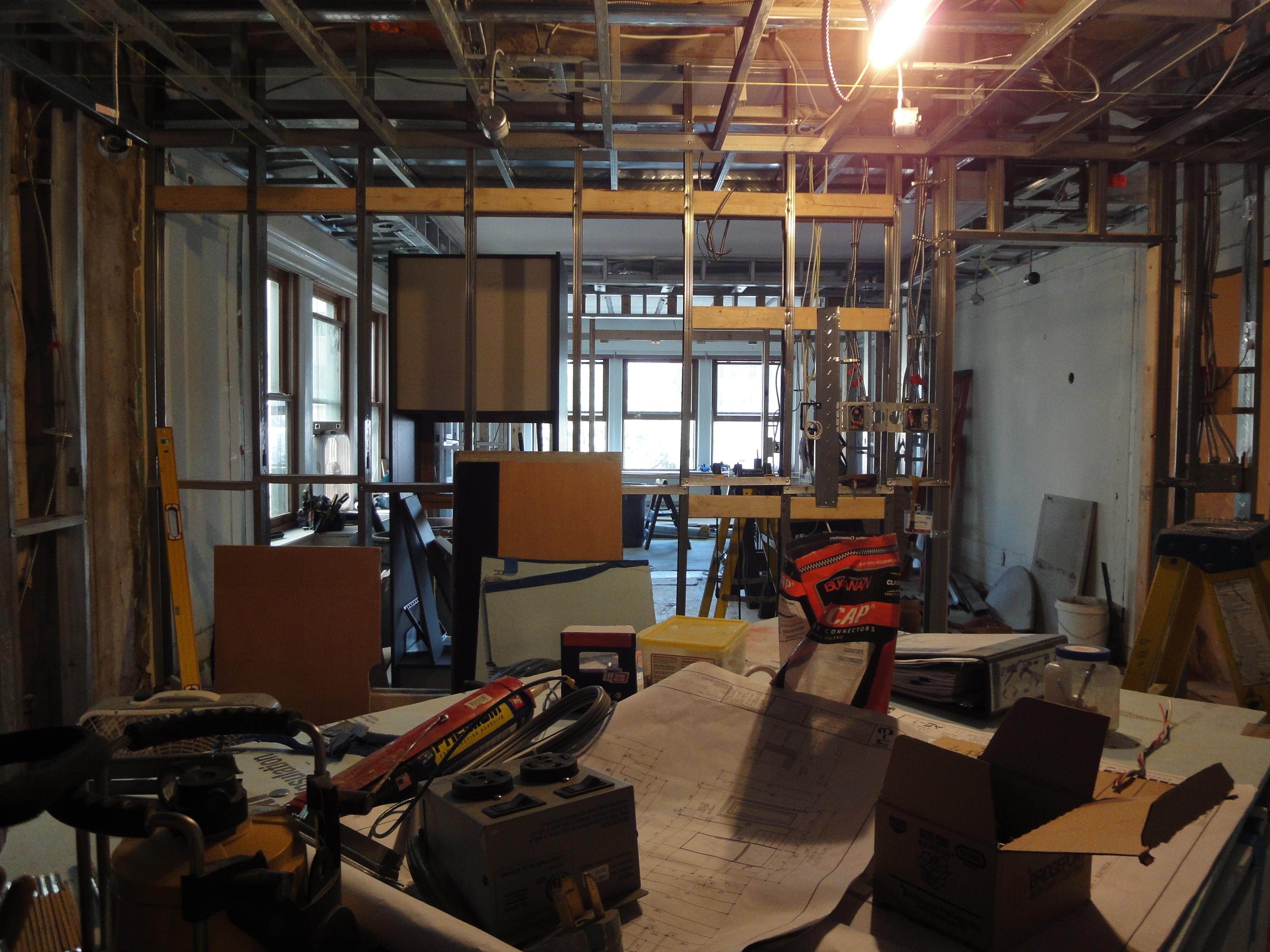 interior renovation & reconfiguration