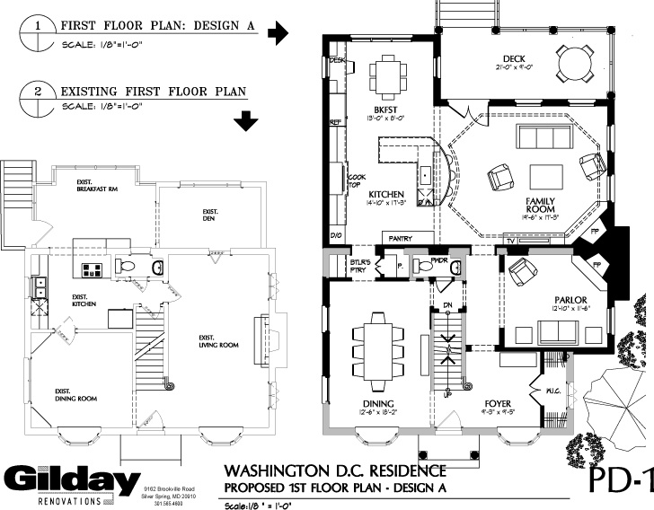 plans for two-story home addition include master suite, kitchen, family room