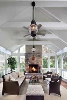 design build project-porch interior