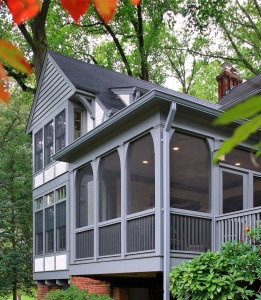 tudor style home addition chevy chase md