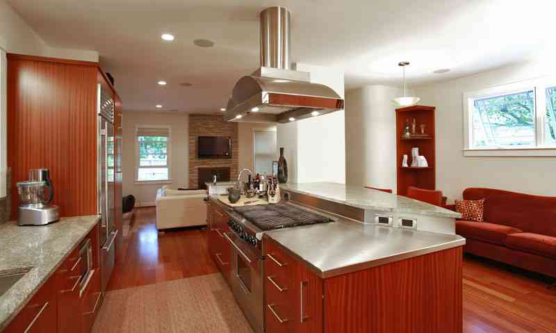 contemporary kitchen style by leslie roosevelt gilday renovations washington dc