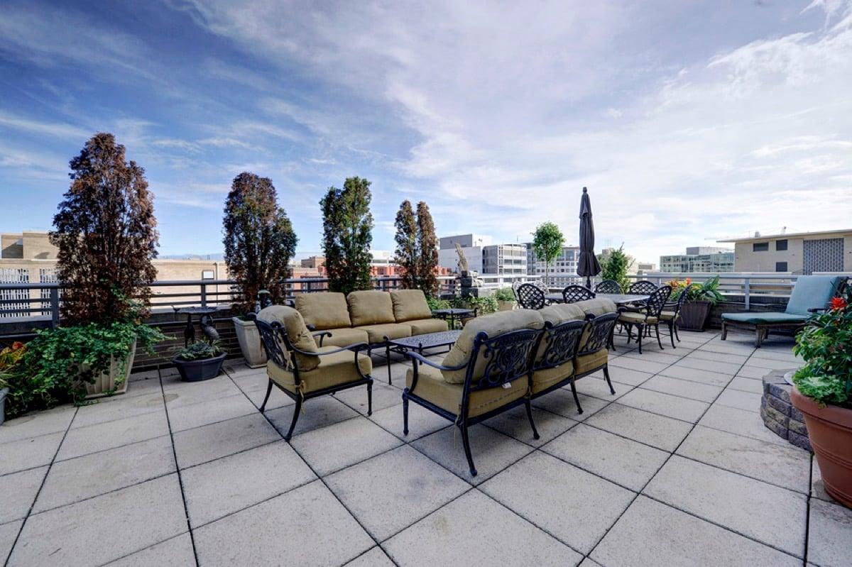 Ritz- Rooftop deck