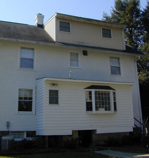 Bethesda home addition before renovation