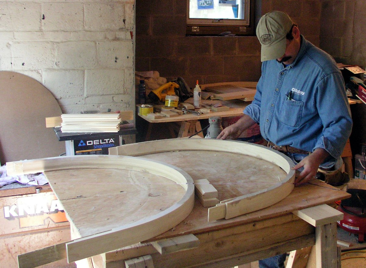 shaping-wood-for-archway