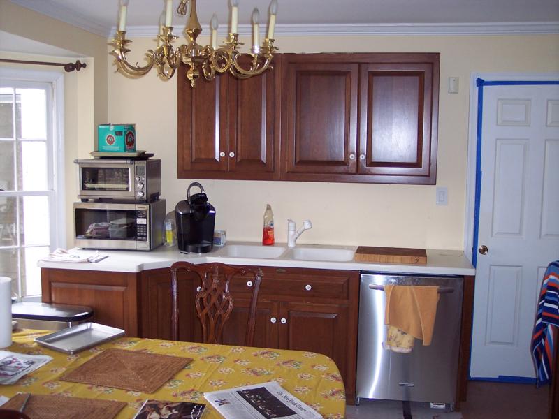 temporary kitchen example