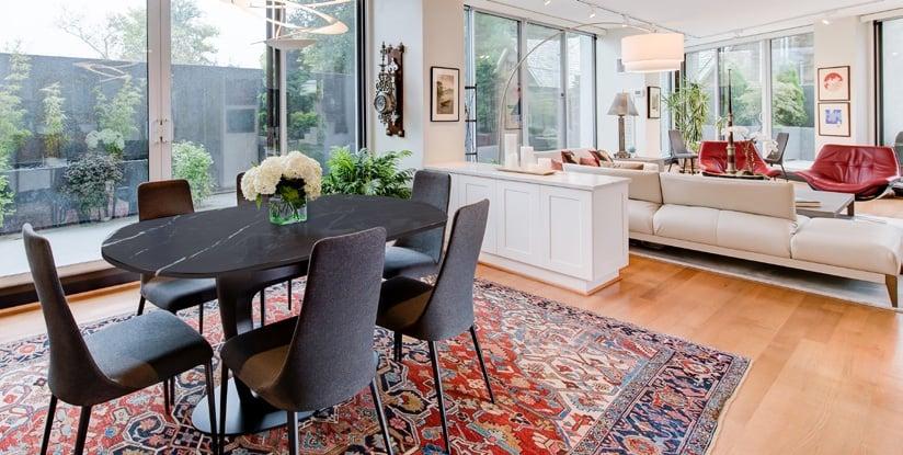 luxury-condo-dining-area