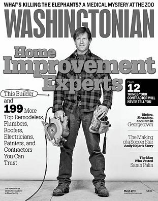 Washington Cover March 2011 Jon Patterson of Gilday Renovations
