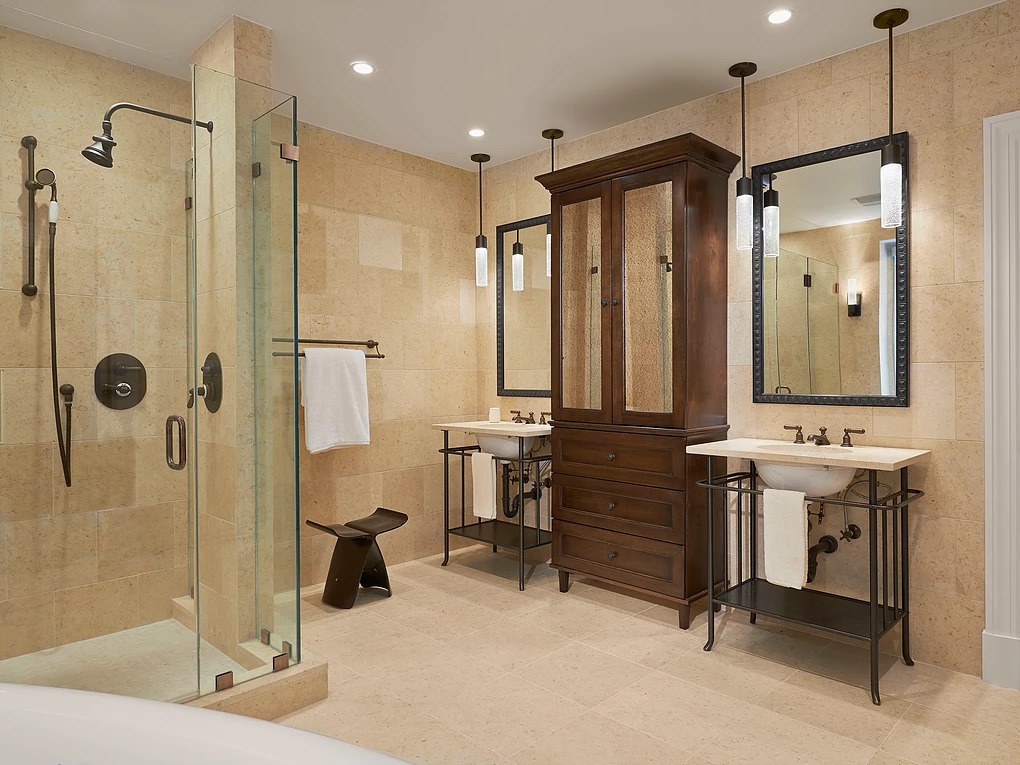 Angled View of Master Bath