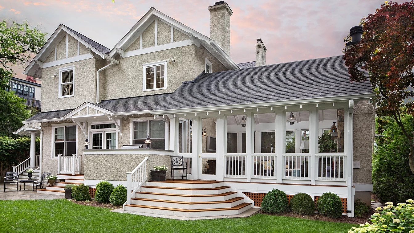 Porch and Home Exterior