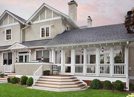 Chevy Chase DC Home Addition with Screened Porch