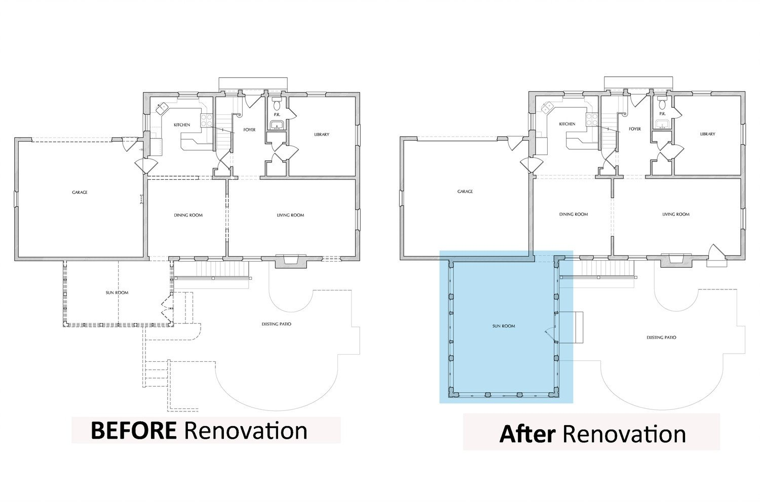 Chevy Chase Family Room Addition Master Suite Renovation