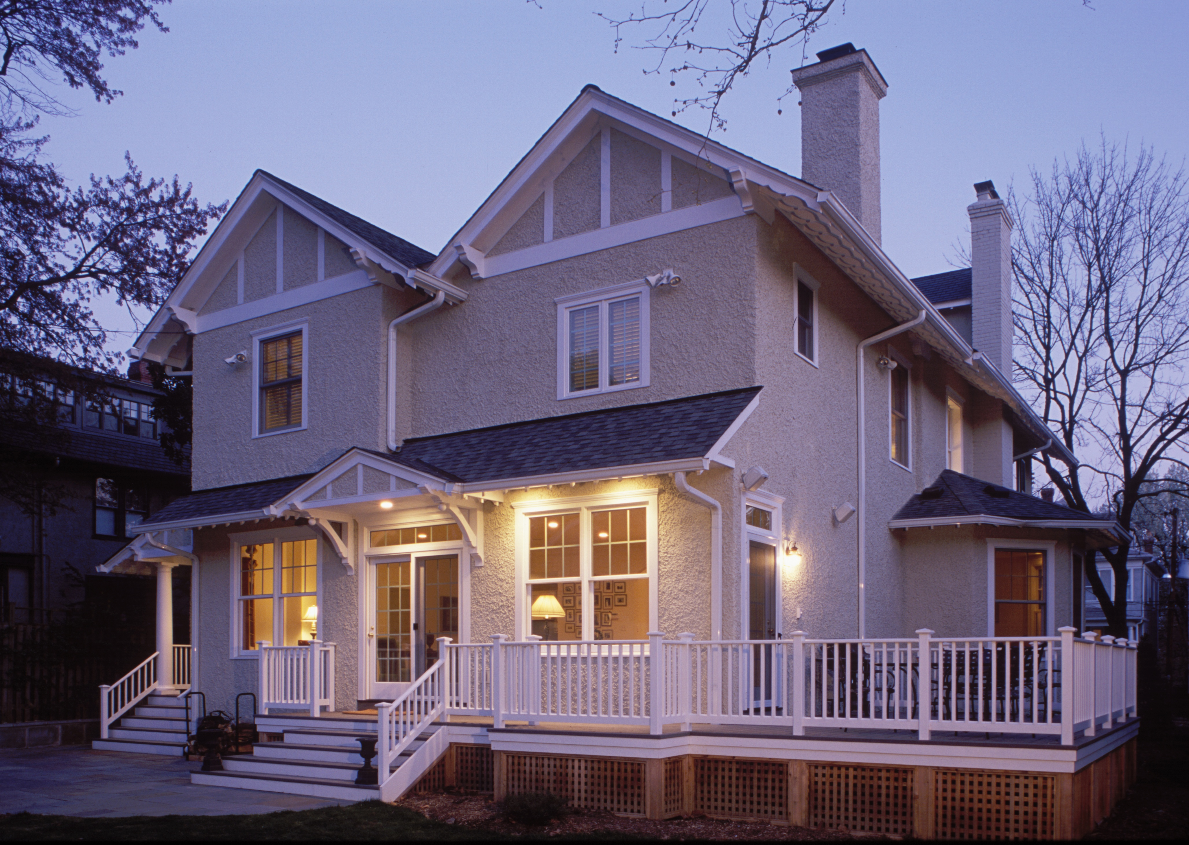 Renovated exterior