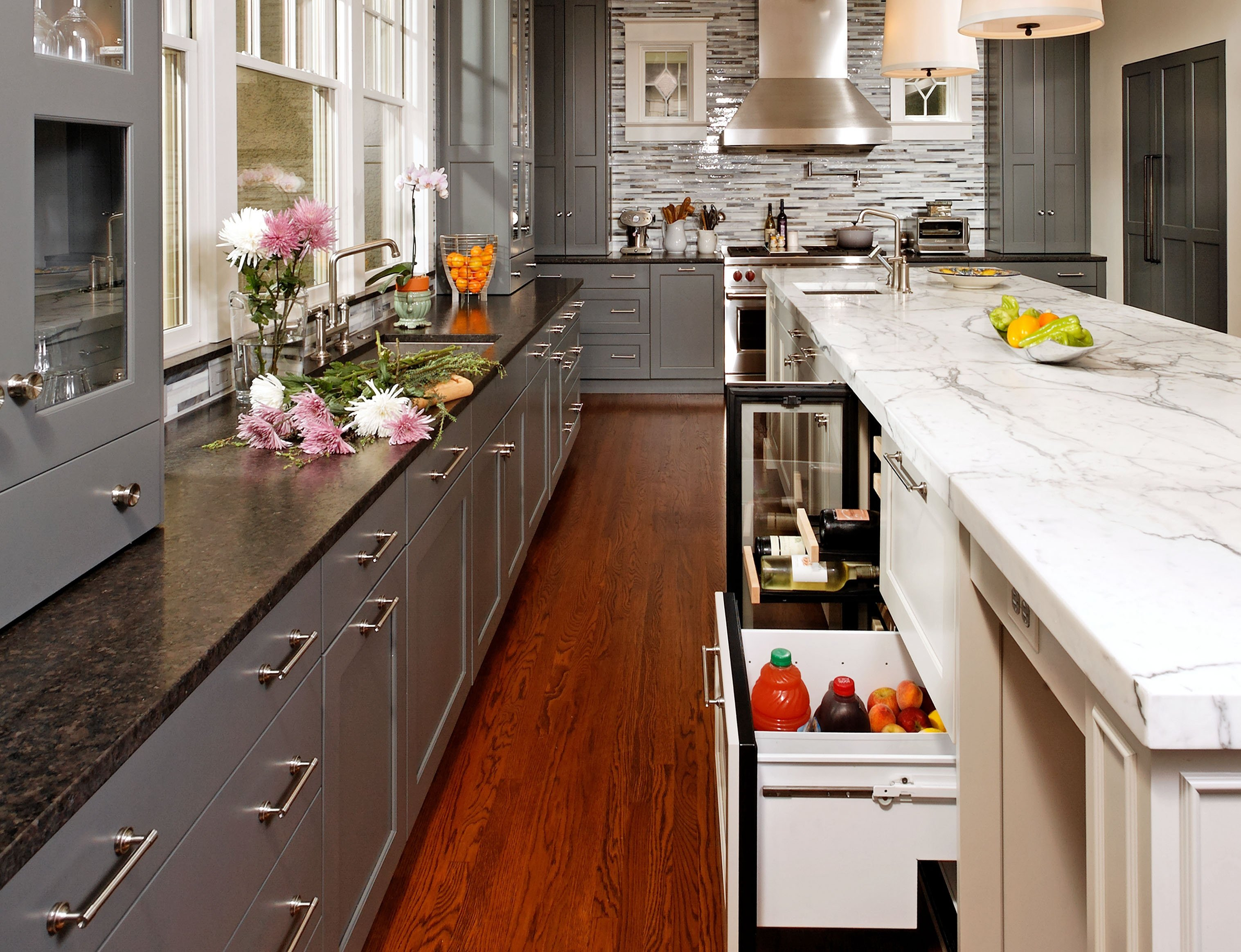 Lower Cabinetry and Storage