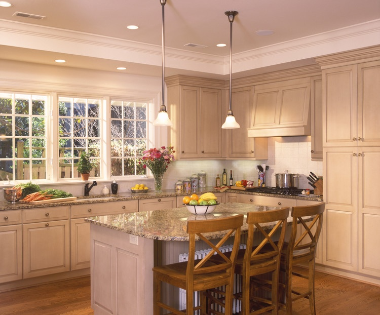 Angled View of Kitchen