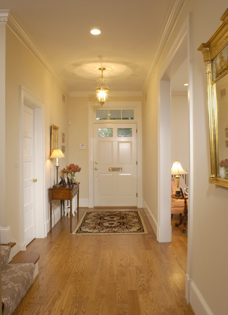 Hallway Leading to Front Entrance