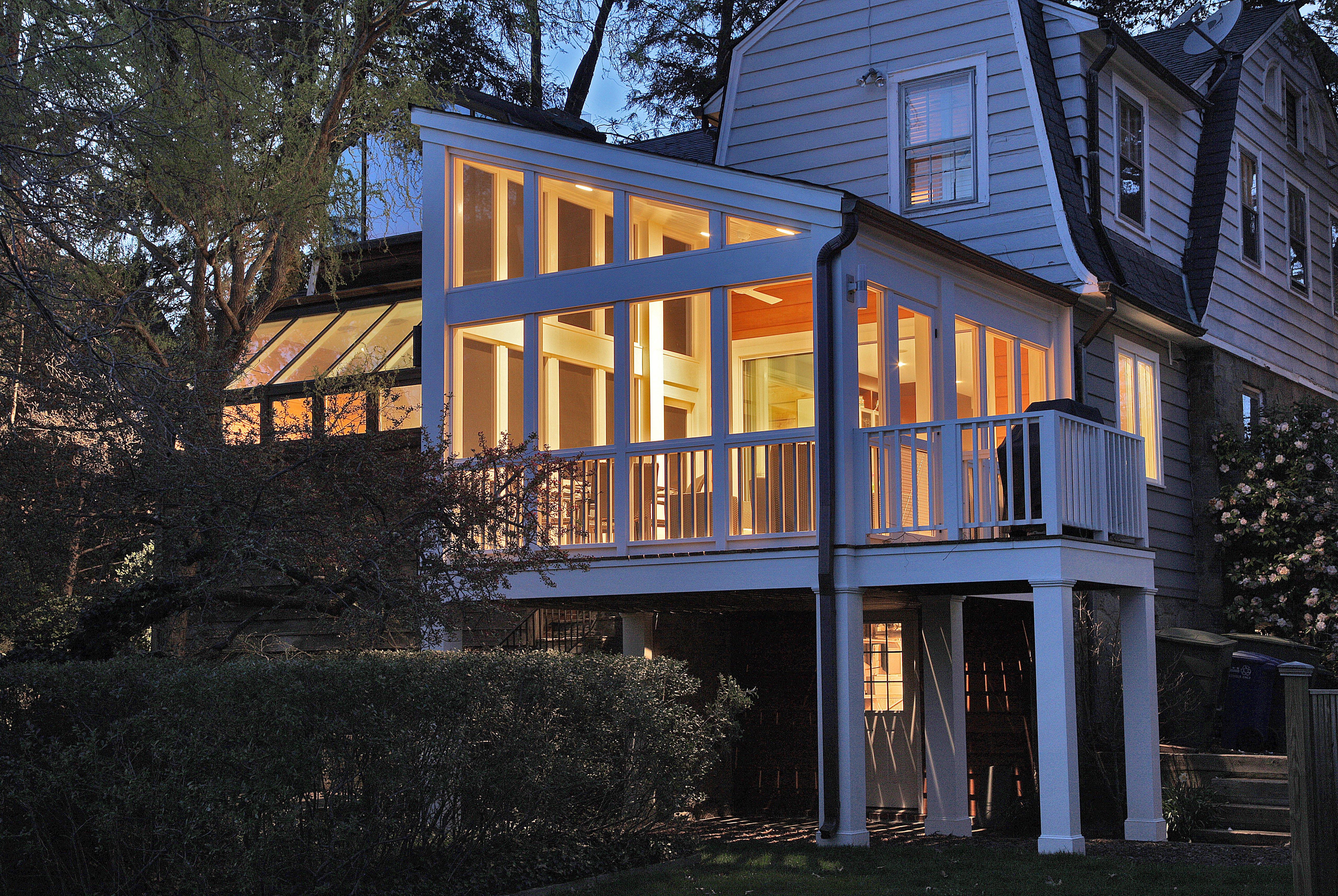 Exterior View of Porch