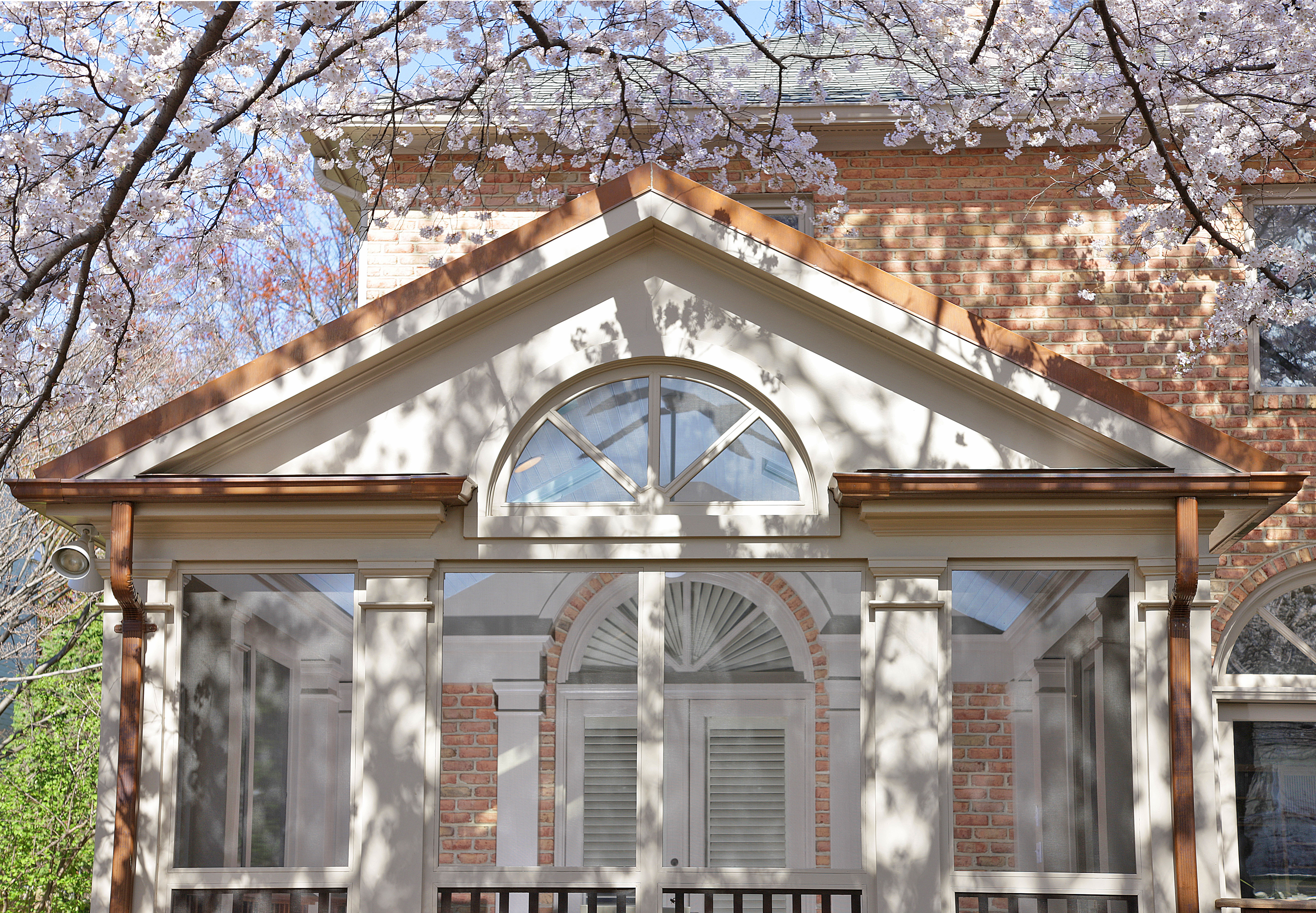 Porch Exterior Closeup