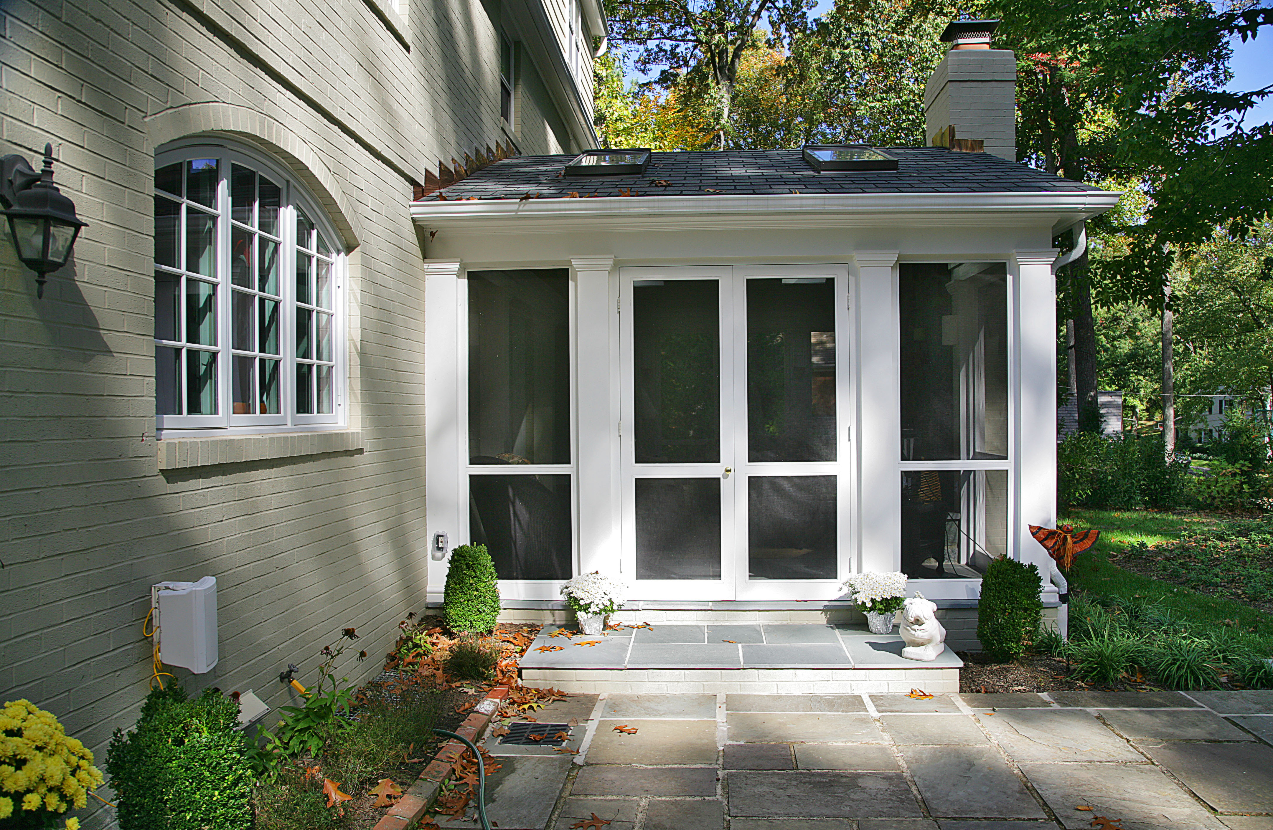 Exterior View of Doors
