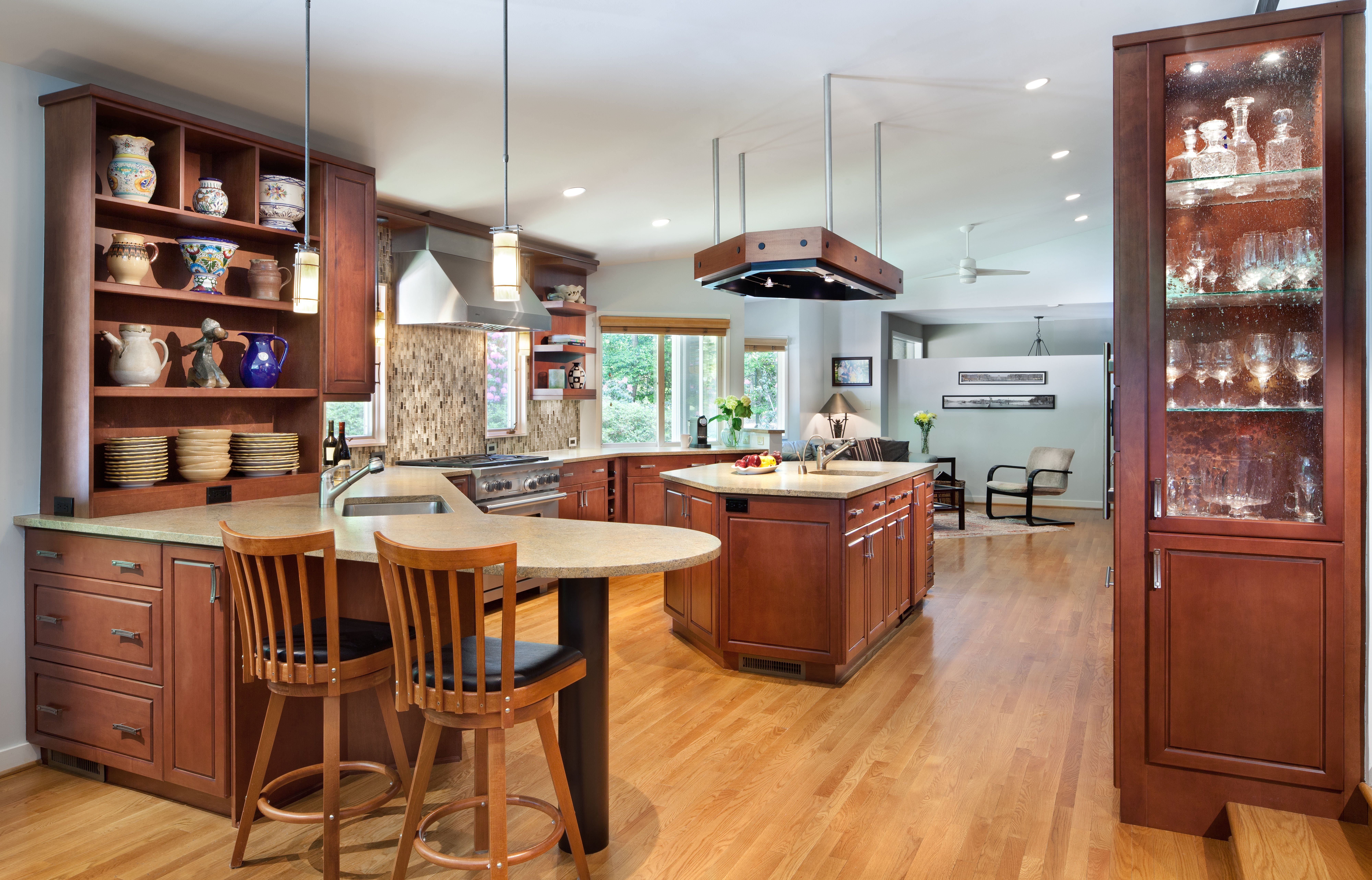 Wide View of Kitchen