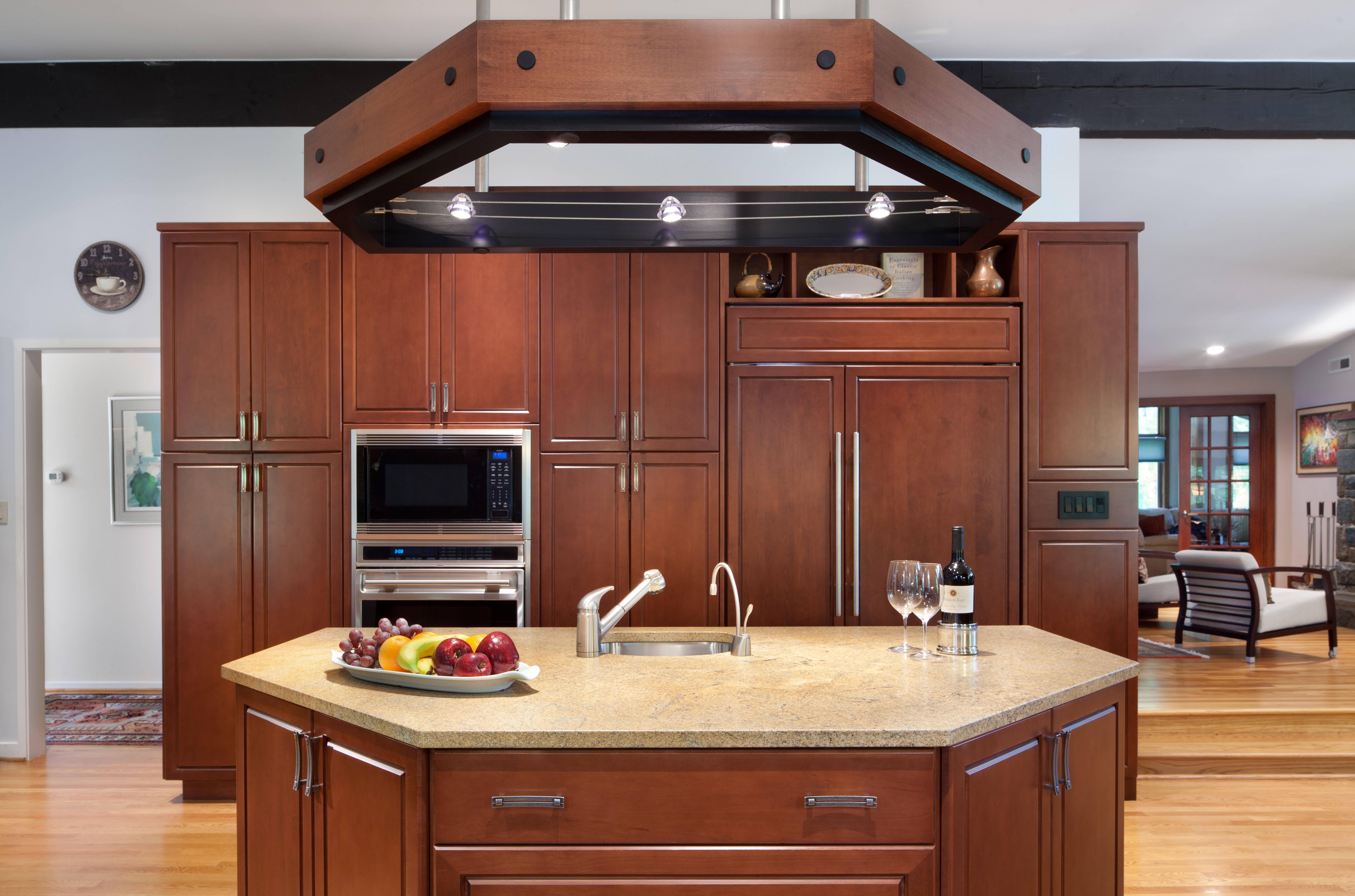 Island and Cabinetry