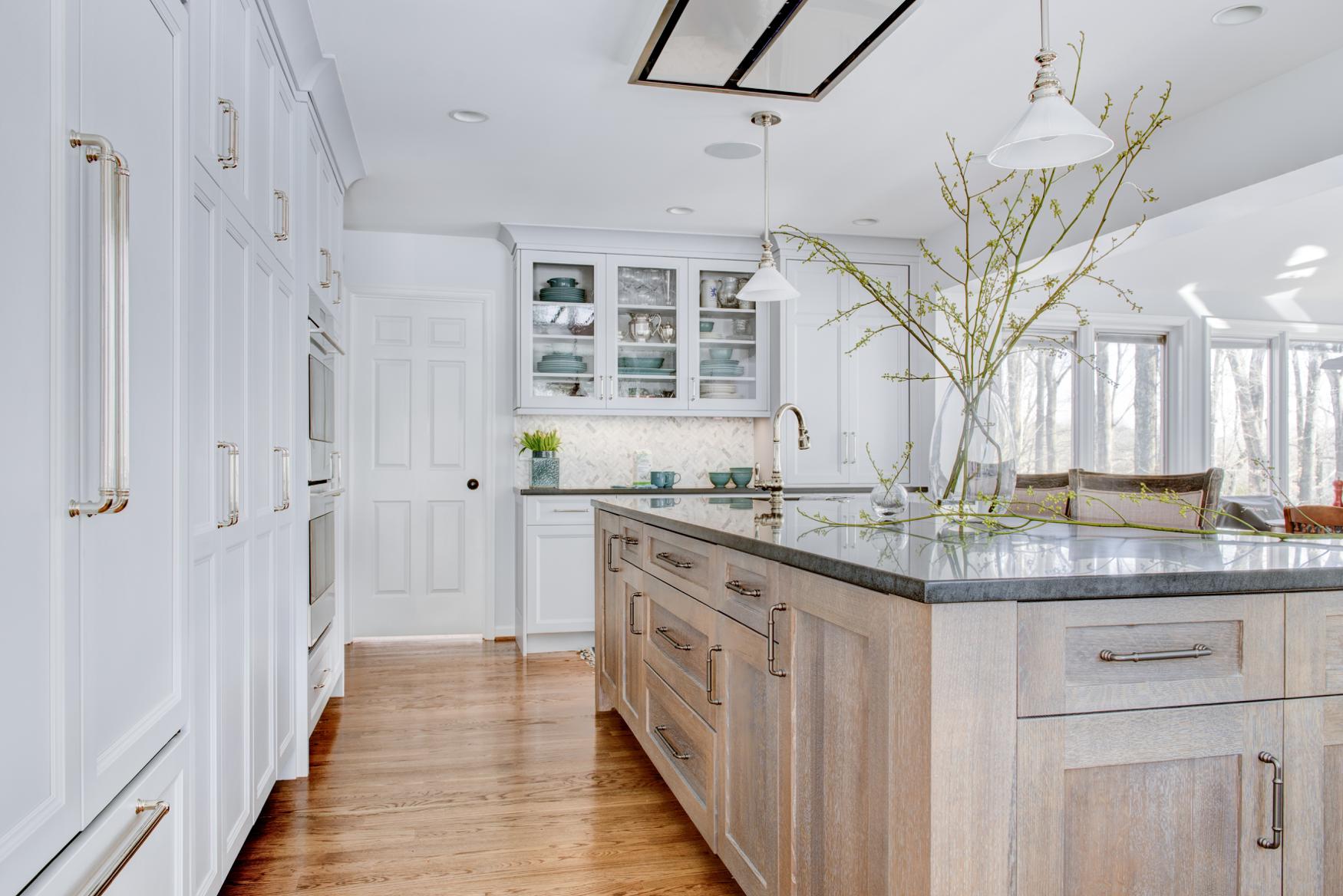 Kitchen Toward Family Room